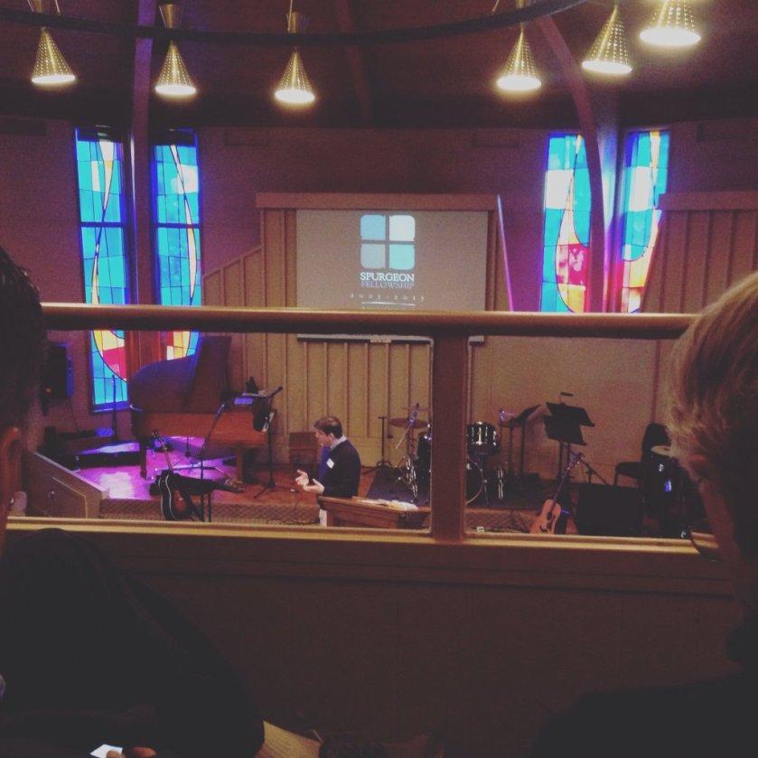 Zack Preaching Spurgeon Fellowship 2016