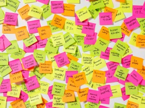 Remembering Post it Notes